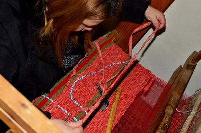 Looms and the art of weaving in Pyrgos